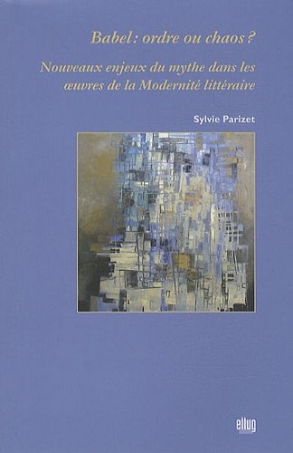 9782843101779: Babel : ordre ou chaos ? (French Edition)