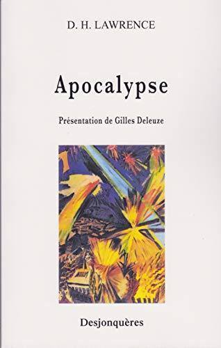 9782843210471: Apocalypse