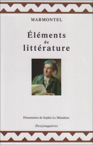 9782843210730: Eléments de littérature