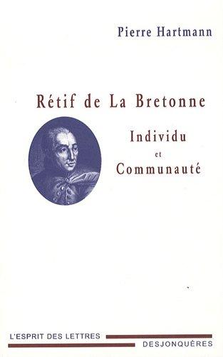 Rétif de La Bretonne: Hartmann, Pierre