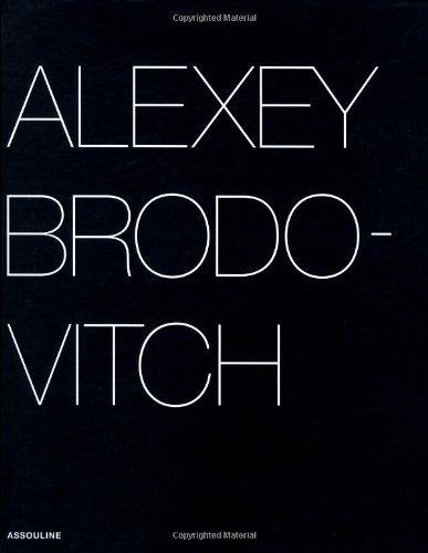 9782843231162: Alexey Brodovitch (Portfolio)