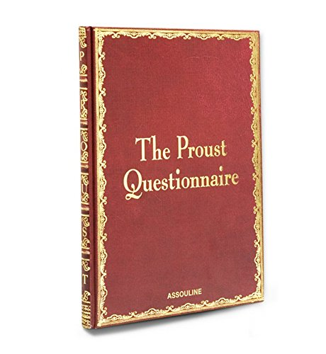 9782843236716: The Proust Questionnaire