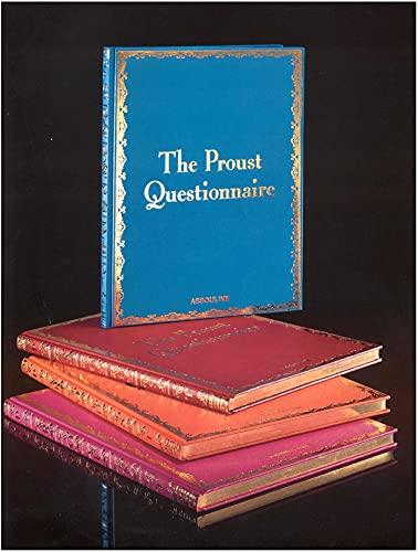 The Proust Questionnaire: Carter, William C.; Servat, Henry-Jean