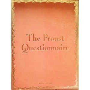 9782843237072: The Proust Questionnaire