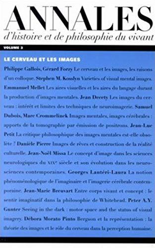 Annales d'histoire et de philosophie du vivant, v. 03: Collectif