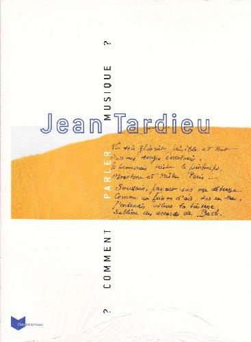 9782843311154: Jean Tardieu