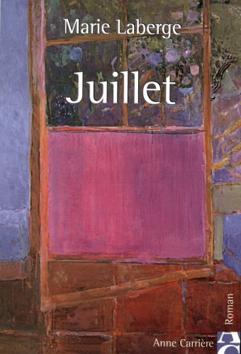 9782843372964: Juillet (French Edition)