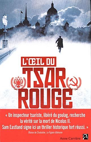 9782843375781: L'oeil du tsar rouge