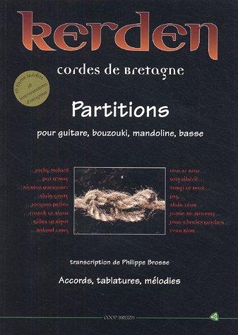 9782843460869: Kerden, cordes de Bretagne : Partitions pour guitare, bouzouki, mandoline, basse