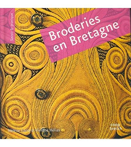 9782843466175: Broderies en Bretagne : Broderie pleine