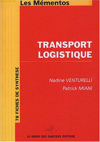 9782843473883: Transport Logistique