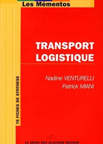9782843475528: Transport logistique