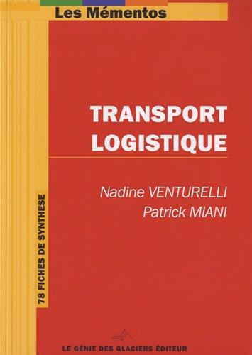 9782843477706: Transport Logistique