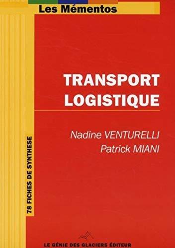 9782843478109: transport logistique