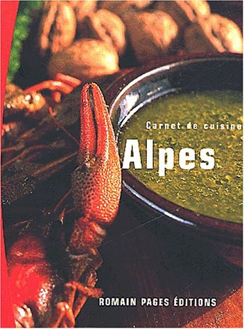 9782843501142: Carnet de cuisine : Les Alpes