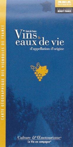 9782843541520: Vins et Eaux Vie Ao Fce Pliee