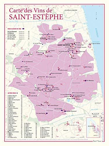 9782843542329: Carte des vins de Saint-Estephe