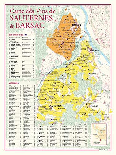 9782843542343: Carte des vins de Sauternes et Barsac