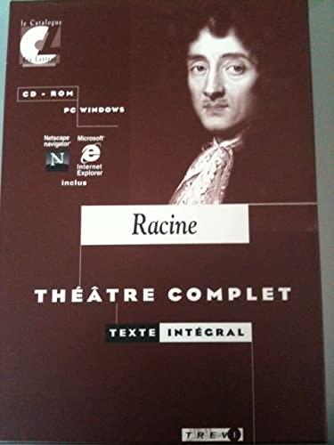 9782843570117: Racine, théâtre complet