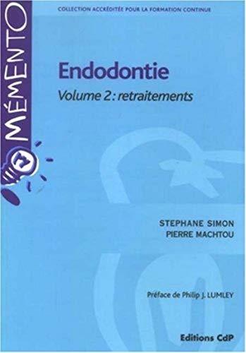 Endodontie (French Edition): Stéphane Simon