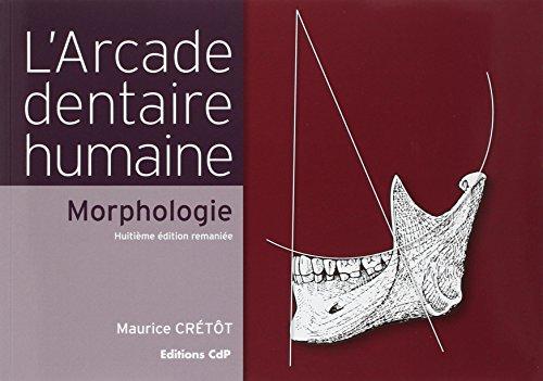 Pack Arcade Dentaire Humaine + Variations Morphologiques des Dents Humaines: Cretot Maurice