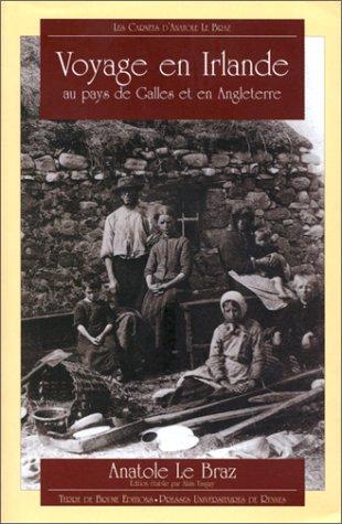 9782843620645: Les Carnets d'Anatole Le Braz : Voyage en Irlande, au pays de Galles et en Angleterre