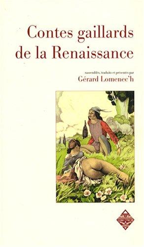 9782843623837: Contes gaillards de Renaissance