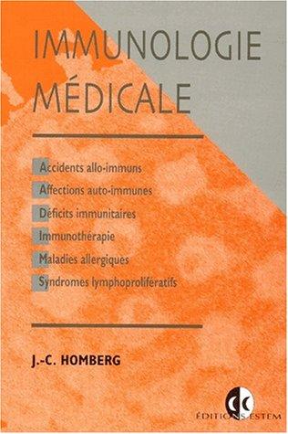 Immunologie m?dicale. 2?me cycle des ?tudes de m?decine, de pharmacie et d'odontologie: ...