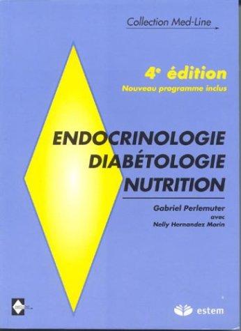 9782843711497: Endocrinologie-diabétologie-nutrition. (French Edition)