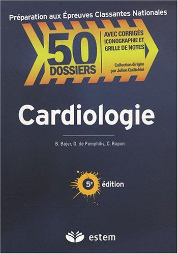 9782843714177: Cardiologie (50 Dossiers Pr�paration aux Epreuves)