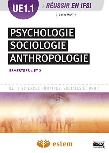 UE 1.1 PSYCHOLOGIE SOCIOLOGIE ANTHROPOL: MARTIN ED 2015