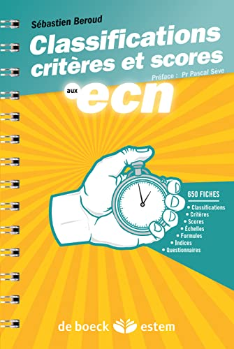 9782843716188: Classifications, crit�res et scores aux ECN