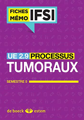9782843717192: UE 2.9 - Processus tumoraux - Semestre 5