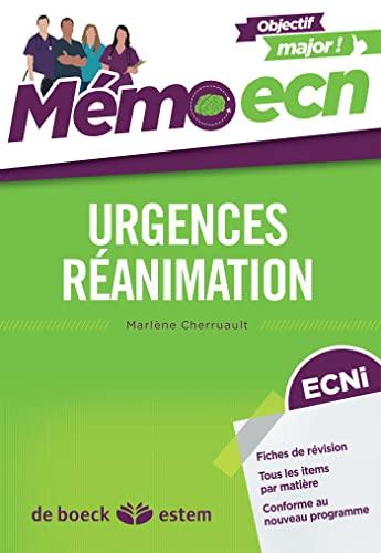 9782843717741: Urgences-Réanimation - Mémo ECN