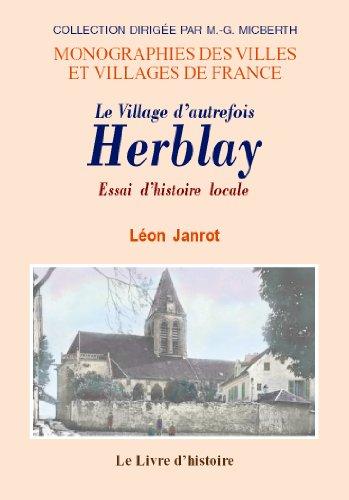 9782843736858: Herblay. Essai d'Histoire Locale