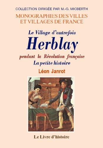 9782843736865: herblay pendant la revolution francaise