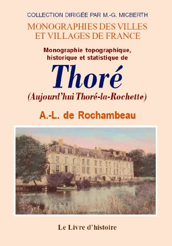 9782843739439: Thore (Monographie de)
