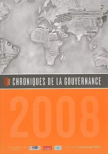 Chroniques de la gouvernance [Paperback] [May 09,: Wojtek Kalinowski