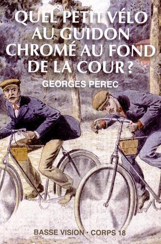 9782843796500: Quel petit vélo au guidon chromé au fond de la cour ?