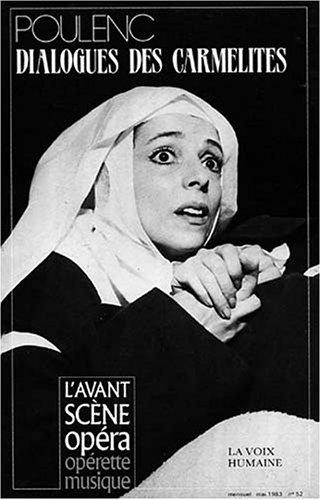 9782843850394: L'Avant-Scène Opéra, N° 52 : Dialogues des Carmélites
