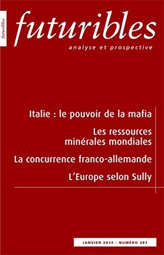 Futuribles, N° 381 Janvier 2012 : Italie: Hugues de Jouvenel;