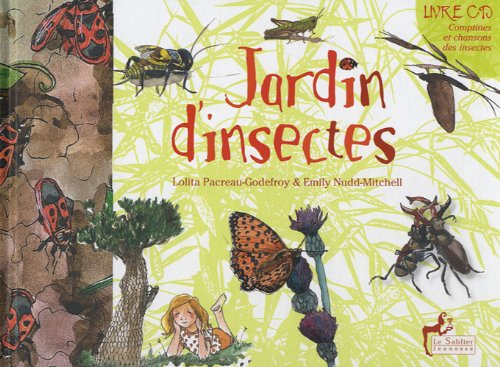Jardin d'insectes (1CD audio) (French Edition)