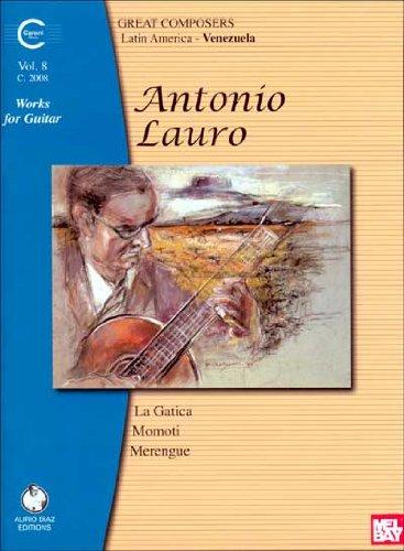9782843944079: Antonio Lauro: Works for Guitar, Volume 8