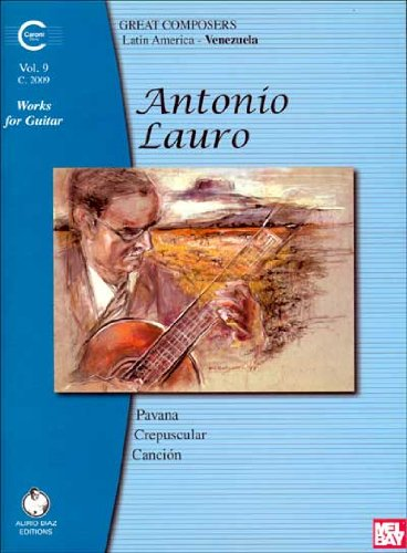 9782843944123: Antonio Lauro Works for Guitar