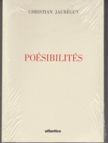 Poesibilites: Jaureguy, Christian