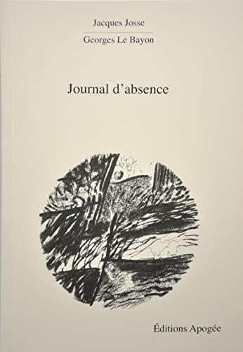 9782843983559: Journal d'absence