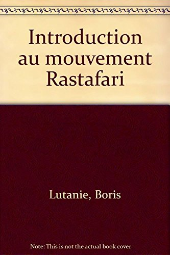 9782844051165: Introduction au mouvement rastafari