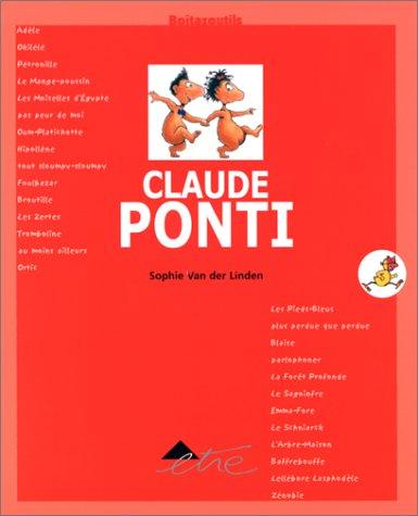 9782844070173: Claude Ponti, avec un