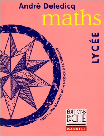 9782844100047: MATHS LYCEE (Ancienne Edition)