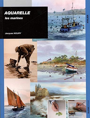 9782844151506: Aquarelle : Les marines